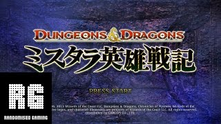 Dungeons & Dragons: Mystara Eiyuu Senki - PlayStation 3 - Gameplay [1080P]