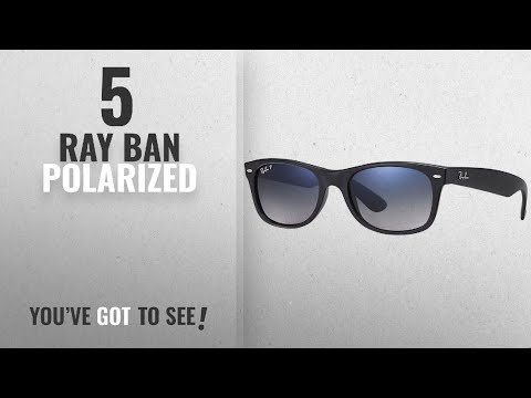 top-10-ray-ban-polarized-[-winter-2018-]:-ray-ban-unisex-new-wayfarer-polarized-sunglasses,