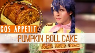 Cos Appétit!: Pumpkin Roll Cake with Megumi ☆ Previous Video: http:...