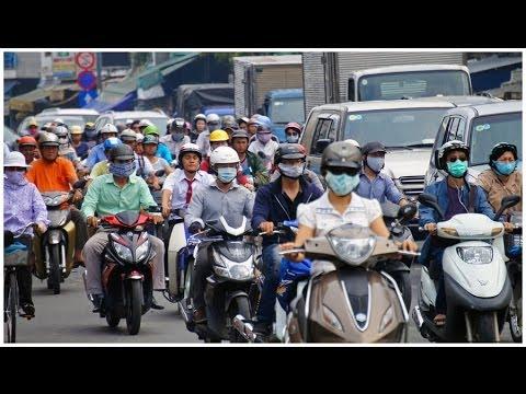 Bicyling in Hồ Chí Minh City ( Saigon )