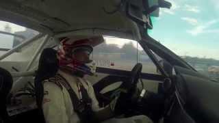 Kuba Przygoński Drift Allstars Riga 2014 onboard