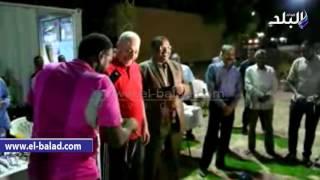 بالفيديو.. محافظ أسوان يشهد ختام الدورة الرمضانية بنادي الخزان