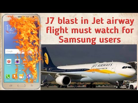 J7 explode in Jet airway flight 😱