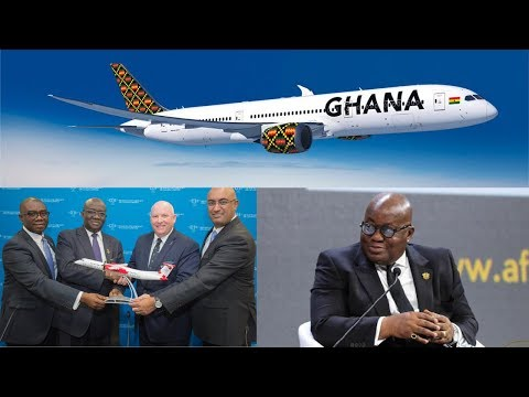 Ghana Signs Deal With 2 Aircraft Companies For Relaunch Of National Airline