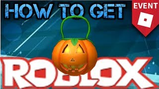 WIE TO GET THE PUMPKIN TRICK OR TREAT PALE ROBLOX 2018 HALLOWEEN EVENT