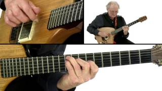 Adrian Legg Guitar Lesson - Dying Embers Steel Bends Performance - Fingerstyle Guitar