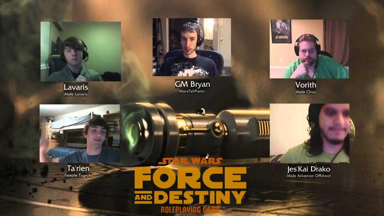 Star Wars Force And Destiny Session 1 1 Youtube