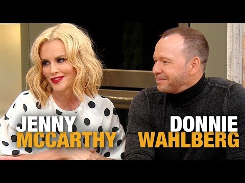 Jenny McCarthy Fights Back Tears as She Gushes About Husband Donnie Wahlberg  Rachael Ray