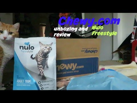 Chewy.com Unboxing And Review   Nulo Freestyle