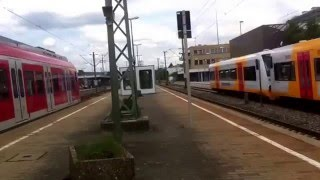 Böblingen- S-Bahn Stuttgart mit ET 423, 430, ICs mit BR 101, Regionalzüge, Schönbuchbahn und Buss
