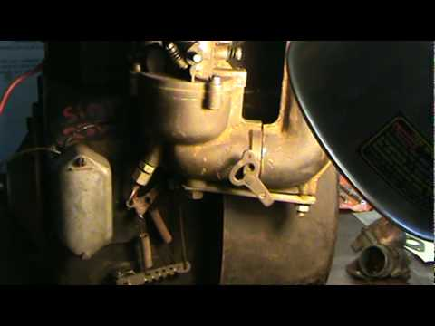 briggs carb linkage diagram ammeter selector switch wiring cast iron and stratton flo-jet rebuild part 2 - youtube