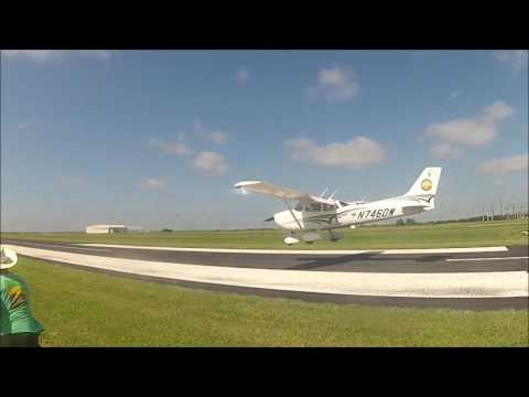 Employees Flying Club Spot Landing