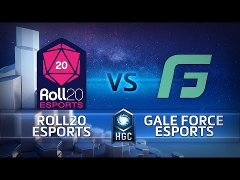 HGC NA - Phase 2 Part 2 - Game 3 – Gale Force Esports v Roll20® esports