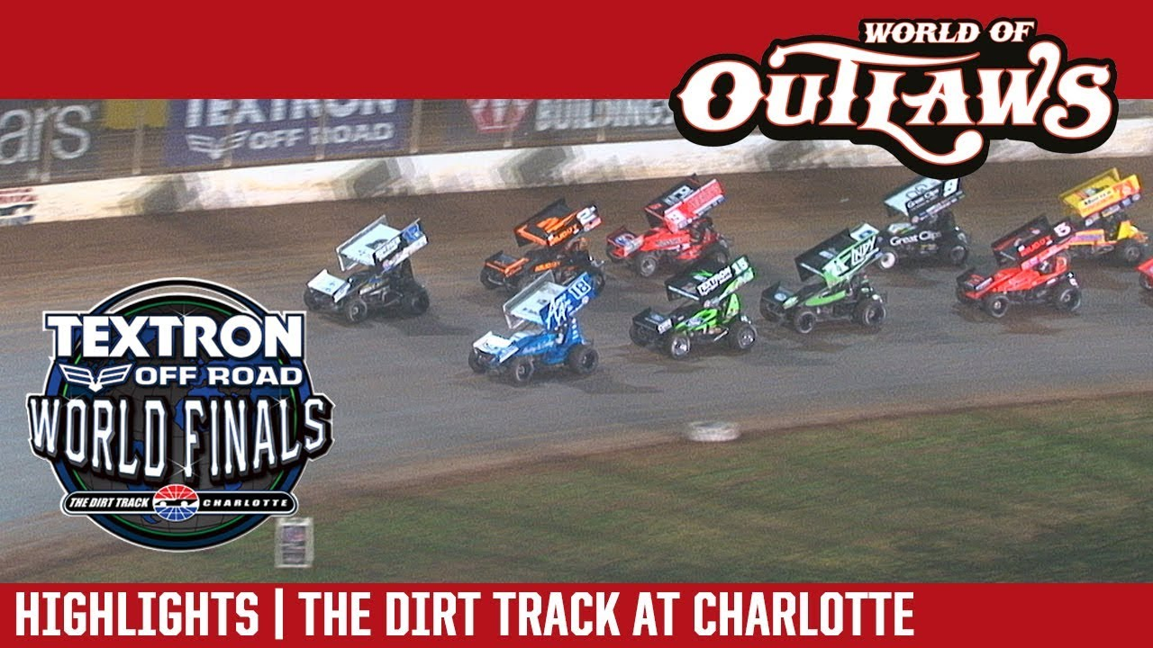 world-of-outlaws-craftsman-sprint-cars-the-dirt-track-at-charlotte-november-3rd-2017-highlights