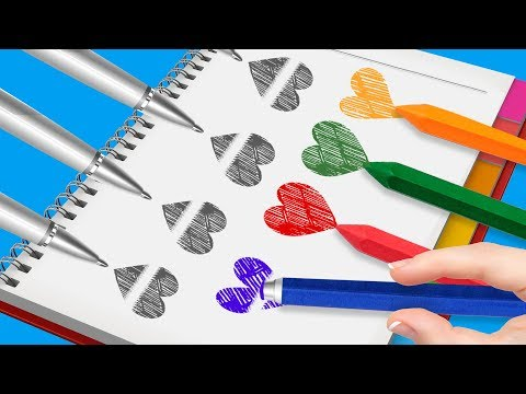 22 COOL SCHOOL SUPPLY HACKS