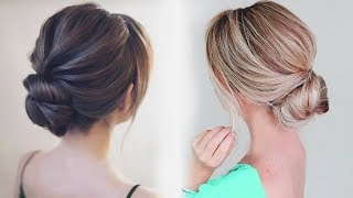 How To: Chignon Hairstyle | Easy Bun Hairstyle 2019