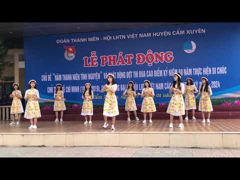 Đoàn Trường THPT Cẩm Bình Ngày Xuân Long Phụng Sum Vầy