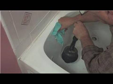 Bathroom Maintenance : How to Unclog a Bathtub - YouTube