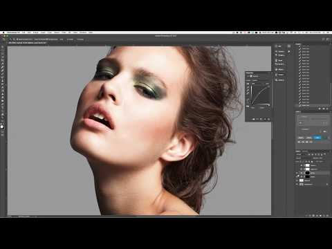 How to Use Local Dodging and Burning For Beauty Retouching in Photoshop