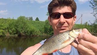 Н. Егоров. Рыбалка на малых речках у г.Коломны (ловля тенкарой)