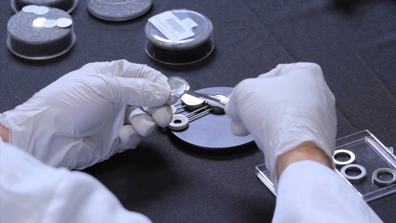 making and analyzing polymer film with the thermo