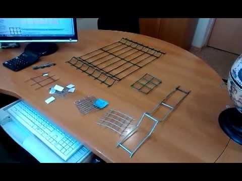 Видео Сварная сетка с полимерным покрытием в туле