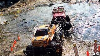 bruder toys 02520 jeep rc conversion vs carrera rc ford f 150 svt raptor monster pickup