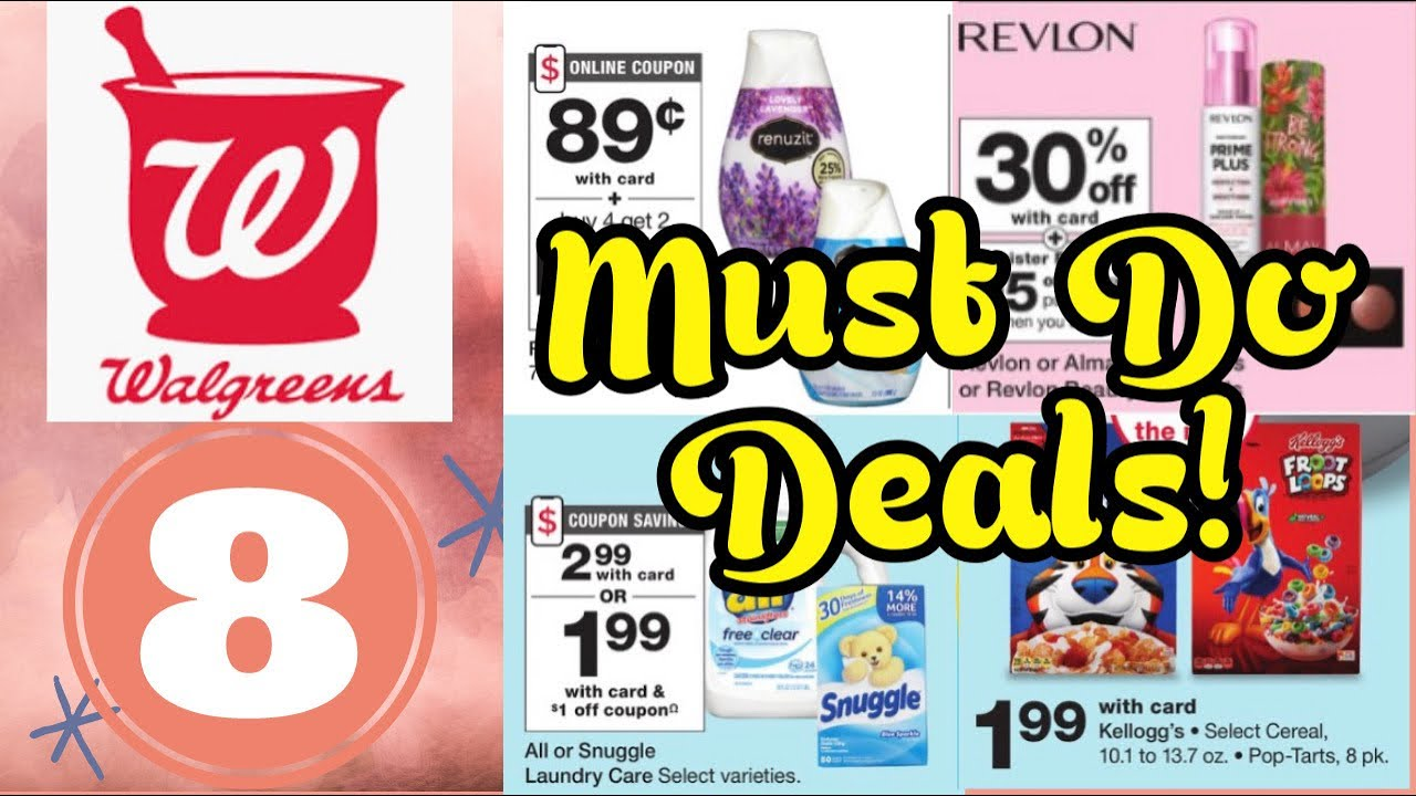 Walgreens Must Do Deals 10/18-24/2020 I $2 Huggies Diapers! I Booster Scenarios