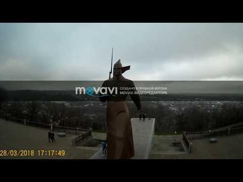 Ставрополь центр, крепостная гора с квадрокоптера