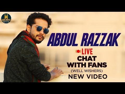 Abdul Razzak LIVE Chat With FANS | #RamzanMubarak 2019 | Golden Hyderabadiz