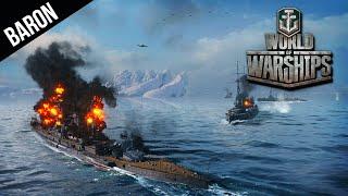 World of Warships - Most Intense Match, Japanese Cruiser u0026 Destroyer Gameplay!