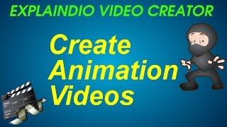 Explaindio 2 Video Creator Review - How to Create Animation Videos - Explaindio 2 Review