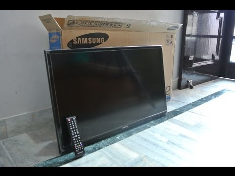 Samsung 32 inch Series 4 4003 TV Unboxing