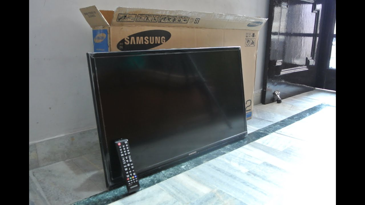 Samsung 32 Inch Series 4 4003 Tv Unboxing The Inventar Youtube
