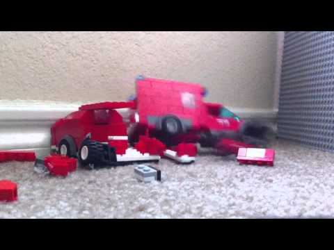 Ultimate slow motion lego car crash compilation thumbnail