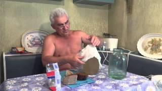 Самый простой Рецепт Приготовления Кваса. Домашний квас 1