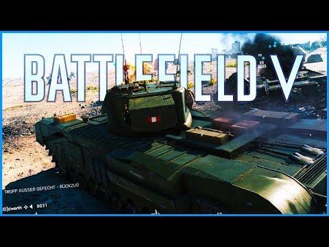 Battlefield 5 #008 — Der Panzer in der Wüste — Battlefield V Deutsch German Gameplay