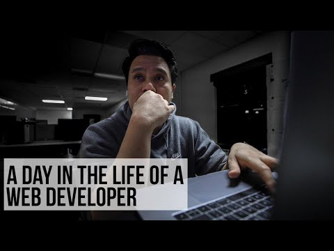 a-day-in-the-life-of-a-web-developer-|-#devslife