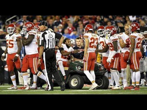 Eric Berry vs Patriots (TNF Week 1) - 7 Tckl + Injury! Big Plays! | 2017-18 NFL Highlights HD