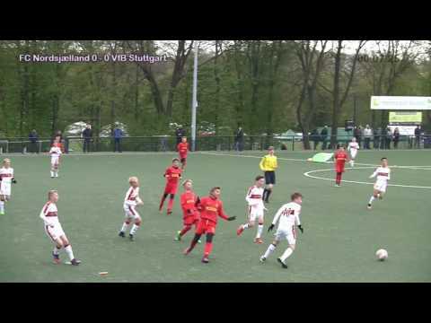 2. E.INFRA U12 Junior Cup. FC Nordsjælland - VfB Stuttgart. Result 2-0