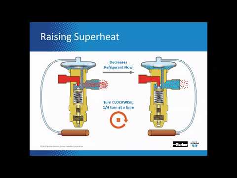 How To Adjust TEV Superheat For HVACR Applications