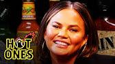 Chrissy Teigen Gets Drunk on Spicy WingsHot Ones