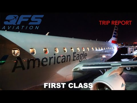 TRIP REPORT   American Airlines - E175 - Los Angeles (LAX) to Sacramento (SMF)   First Class