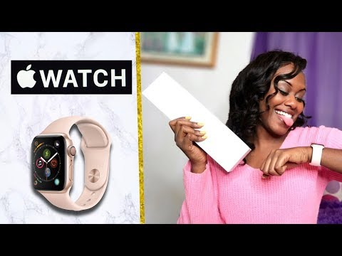UNBOXING: Apple Watch Series 4! (GPS + Cellular)