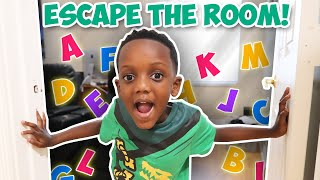 Escape Room Full Of Letters (Learn How To Spell)