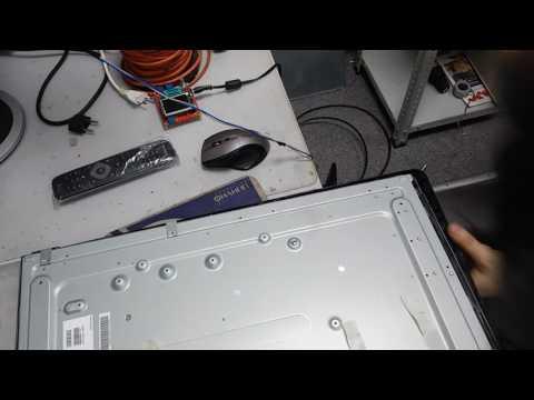 телевизор Philips 42pfl3507h/60 небольшой ремонт матрицы после залития жидкостью