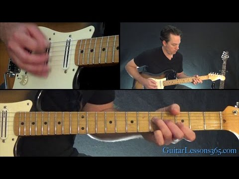 Iron Maiden - 2 Minutes to Midnight Guitar Lesson (Chords/Rhythms)