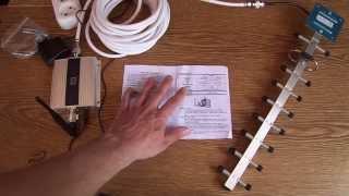 3G репитер (усилитель) МТС, Билайн, Мегофон 2100 мГц. Aliexpress(Подойдет для 3G: МТС, Билайн, Мегофон на частоте 2100 мГц. Обзор, установка и тестирование усиления сигнала,..., 2015-06-26T12:35:37.000Z)