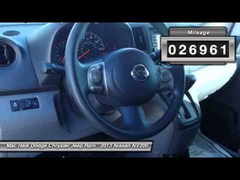 Mac Haik Dodge Temple Tx >> 2013 Nissan NV200 Temple TX 129546A - YouTube
