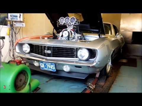 Blown Injected BBC Camaro 820WHP Pump Gas